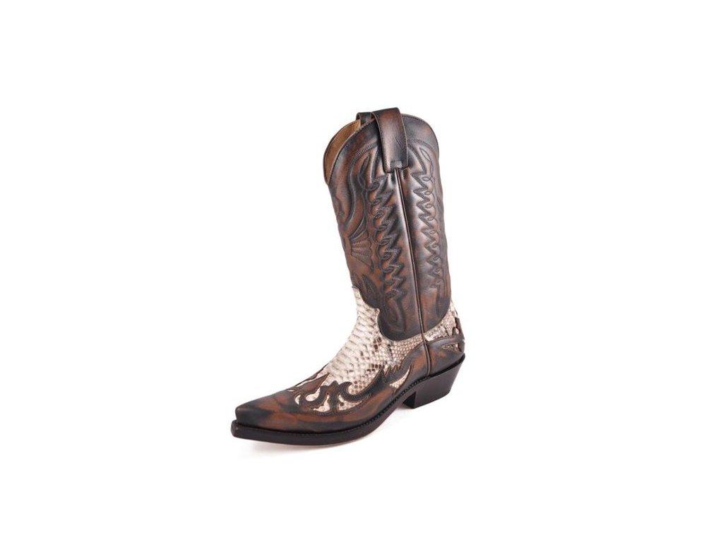 Westernové koně boty Mayura hnědé - Jezdecké potřeby DULKAJ a278b1653b