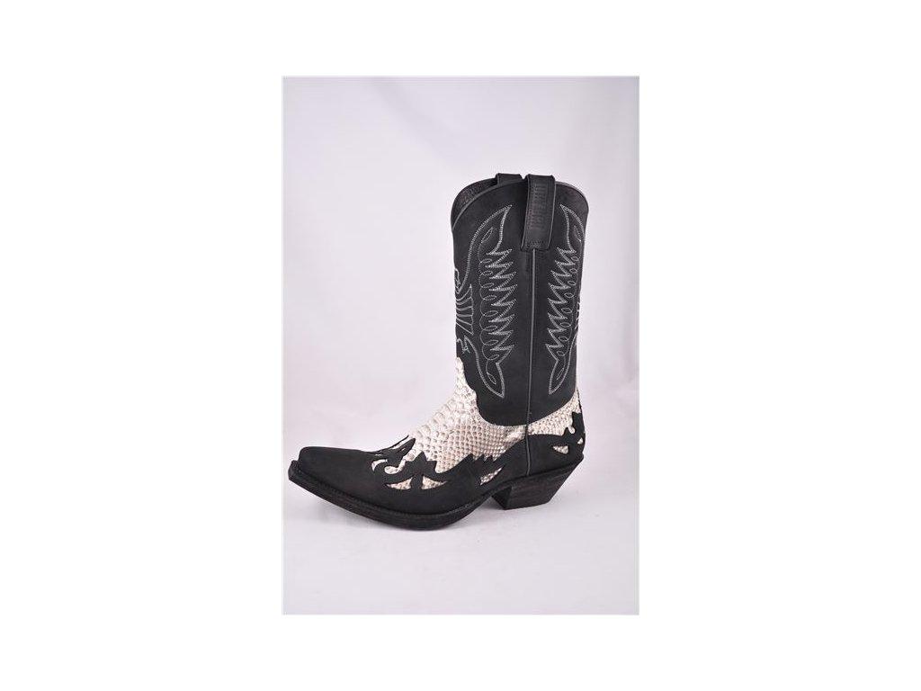 Westernové koně boty Mayura černé - Jezdecké potřeby DULKAJ 095534a03b