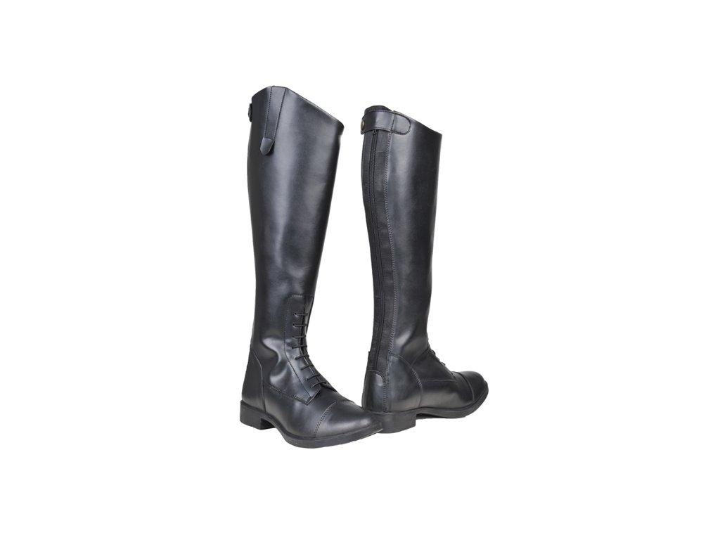 Jezdecké boty vysoké dámské dětské - Jezdecké potřeby DULKAJ 7d6948110a
