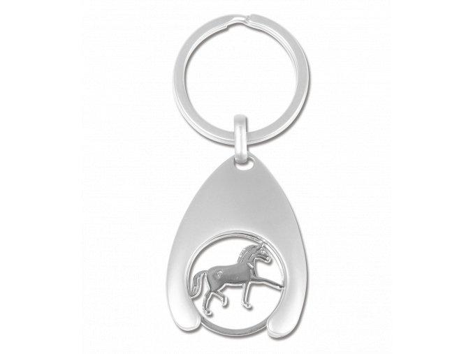 Klíčenka mince - kůň