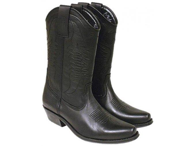 Boty westernové koně Jonny Bulls vysoké (velikost bot 46)