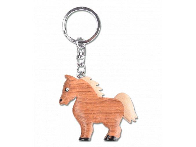 klíčenka koník
