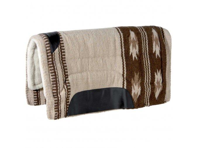 "Westernová deka pod sedlo ""Utah"" (Barva Zelená)"
