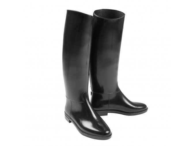 Jezdecké boty vysoké gumové dětské (velikost bot 36)