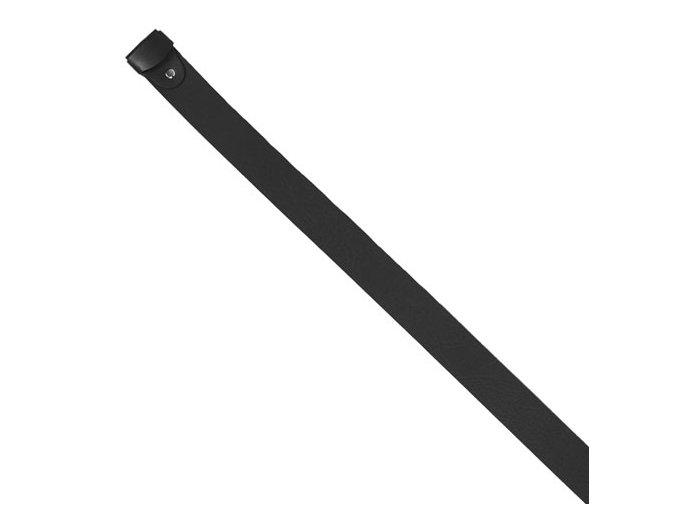 Opasek kožený bez spony (Barva tm.hnědá)
