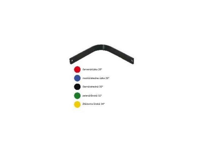 Výměnná komora pro sedla DASLÖ (Výměnná komora pro sedla DASLO žlutá - extra široká 34°)