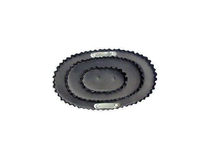 Hřbílko kovové