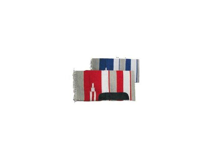 Westernová deka tenká Natowa (Barva Modrá)