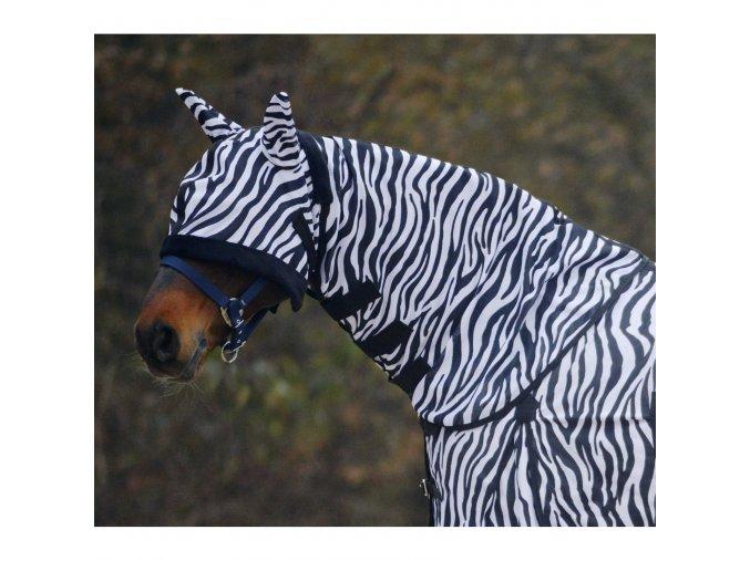 Krční díl k dece proti hmyzu Zebra (Velikost full)