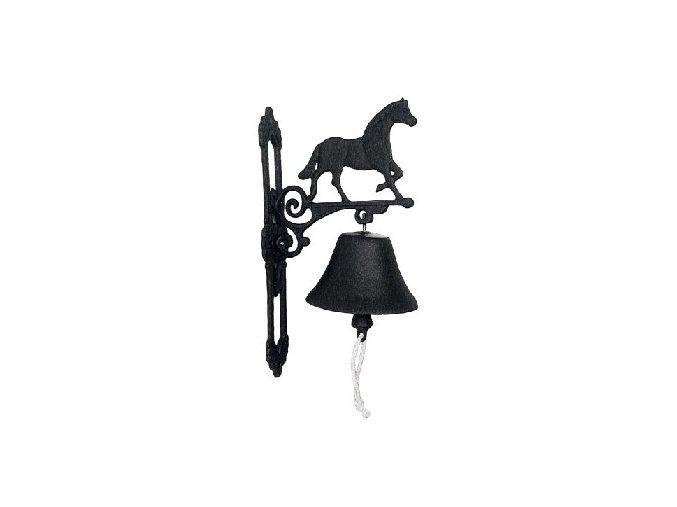 Zvon litinový s koněm