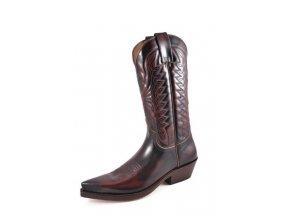 Westernové koně boty Mayura bordó (velikost bot 45)
