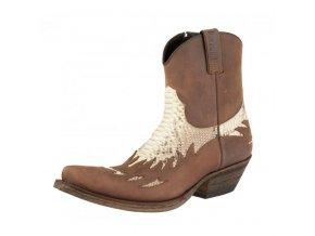 Westernové koně boty Mayura nízké