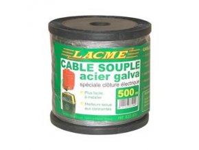 Lanko ocelové vodivé 1,5 mm 500m