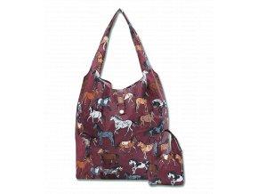 Nákupní taška s koníky