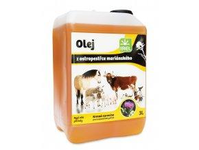 olej ostropestrec 3l