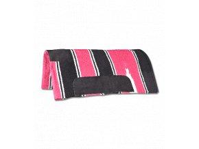 Westernová deka tenká Navajo (Barva růžová)