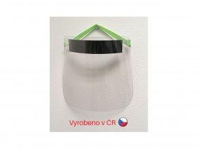 Ochranný obličejový štít plexi