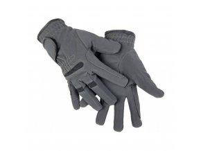 Jezdecké rukavice semišové zimní
