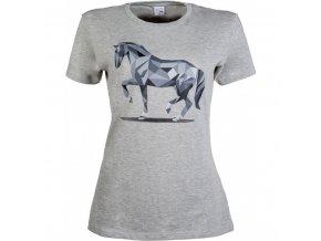 Tričko dámské s koněm Graphical HKM