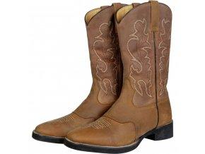 Westernové boty HKM Softy Nevada