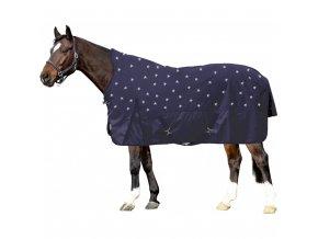 Nepromokavá zateplená deka na koně HKM  Stars 100 g