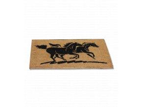 Rohožka s motivem koně