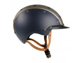 Jezdecká přilba Casco Champ 3 Blue-Grey