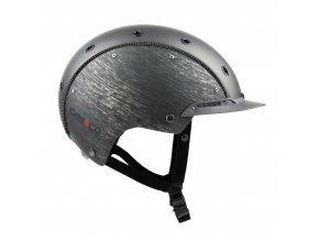 Jezdecká přilba Casco Champ 3 Gunmetal