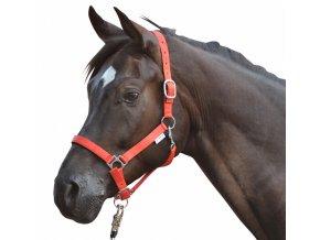 Ohlávka HKM Soft (Barva žlutá, Velikost pony)