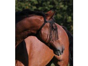 Třásně s podkrčním řemínkem (Velikost pony)