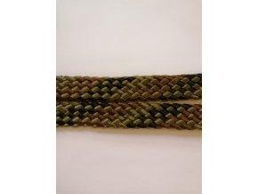 Otěže ploché pletené (Barva žlutá)