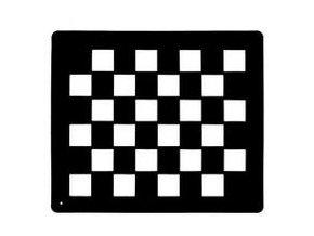 Šablona na úpravu srsti (Šablona trojúhelníky)