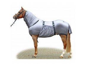"""Deka pro koně """"Anti Ekzema"""" (Barva černá, délka 165 cm)"""