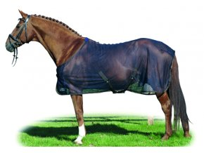 Síťová deka Santos (Barva šedá, délka 165 cm)