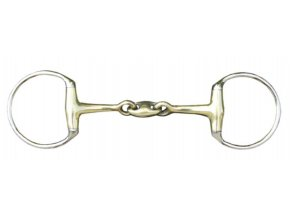 Udidlo 2x lomená oliva s argentanovým udítkem 18 mm