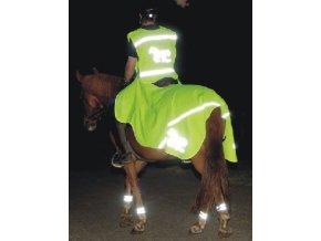 Bederka reflexní HKM (Velikost pony)