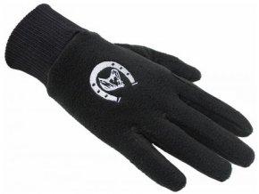 Fleecové rukavice s výšivkou