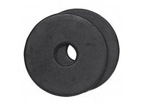 Kroužky na udidlo plné (Barva černá)