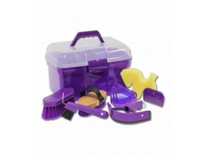 Box na čištění s vybavením (Barva růžová)