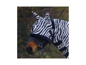 Maska k síťové dece Zebra (Velikost full)