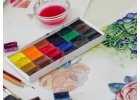Akvarelové barvy a vodovky