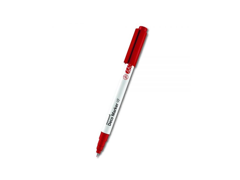 monami deco marker xf 463 red