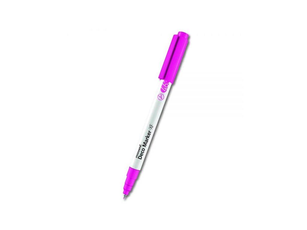 monami deco marker xf 463 pink fluo