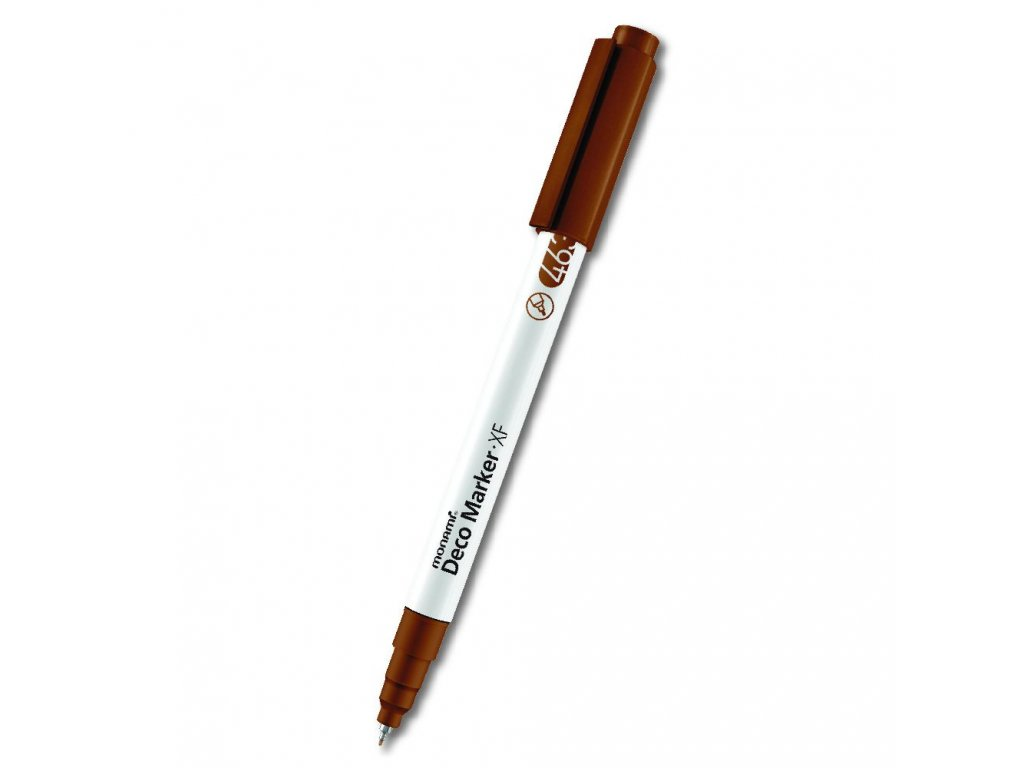 monami deco marker xf 463 metalic brown