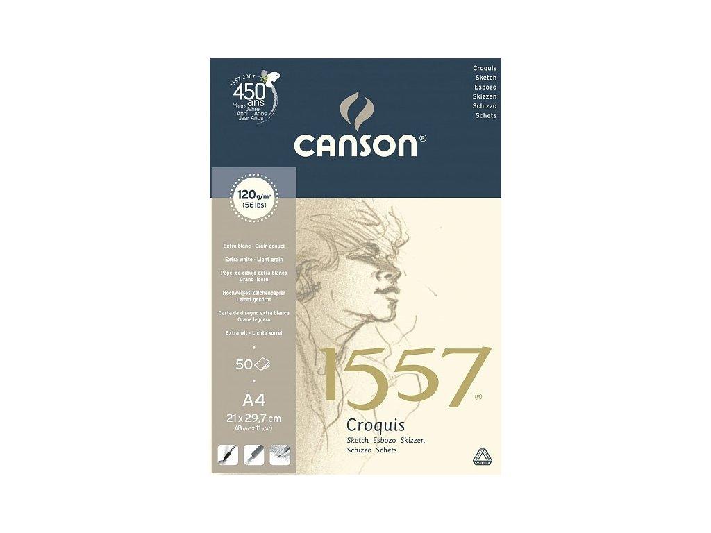 5855 canson 1557 blok lepeny 120g a4 50 listu