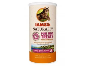 Iams Naturally Cat 100% kachní kostky 25g