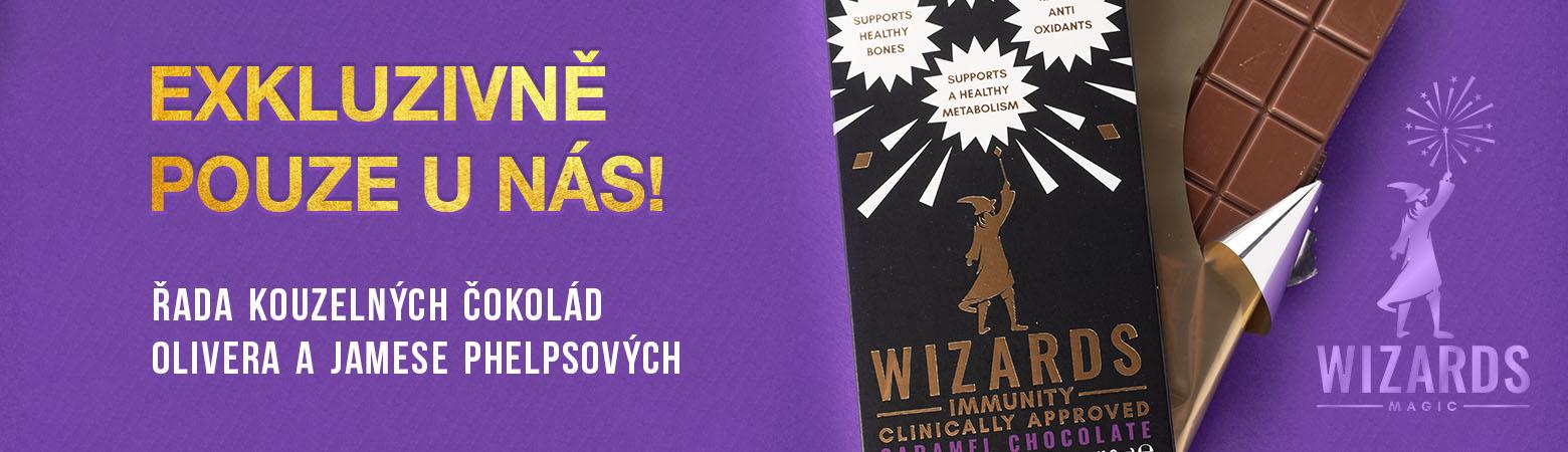 The magic wizard chocolate