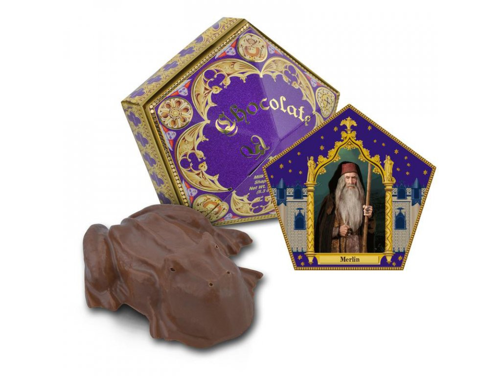 Chocolate frog card Merlin 800x800
