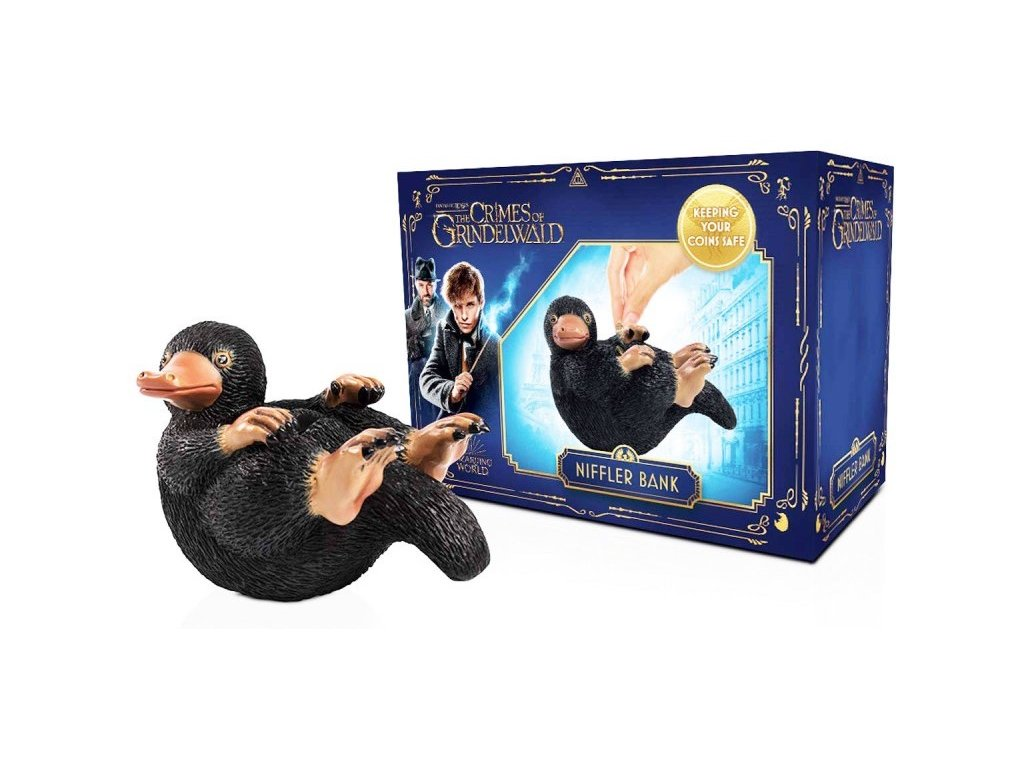 salvadanaio snaso niffler coin bank fantastic beasts animali fantastici abysse corp