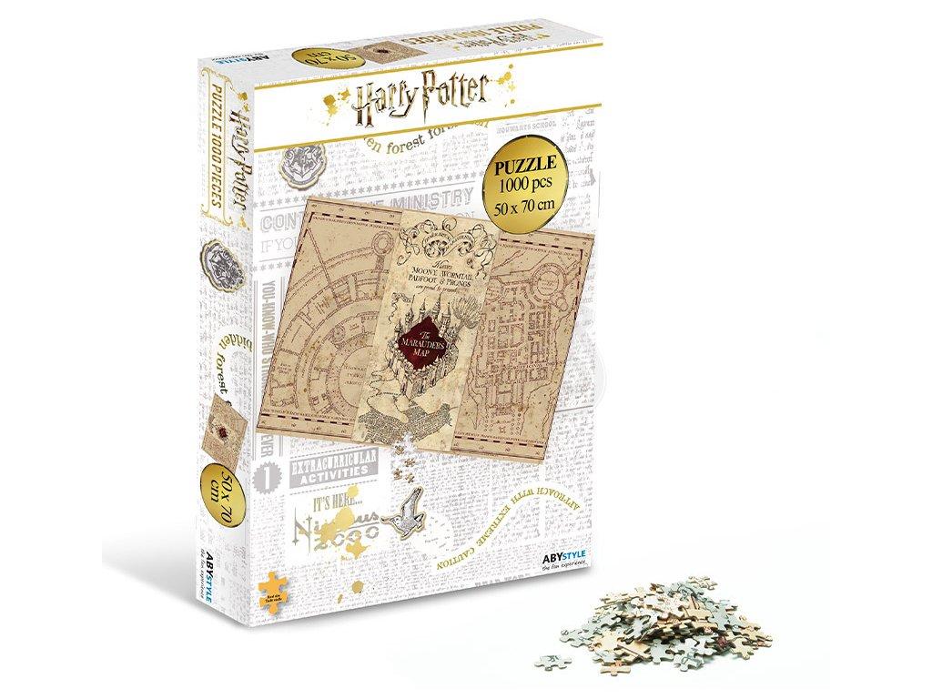 2harry potter jigsaw puzzle 1000 pieces marauder s map kopie